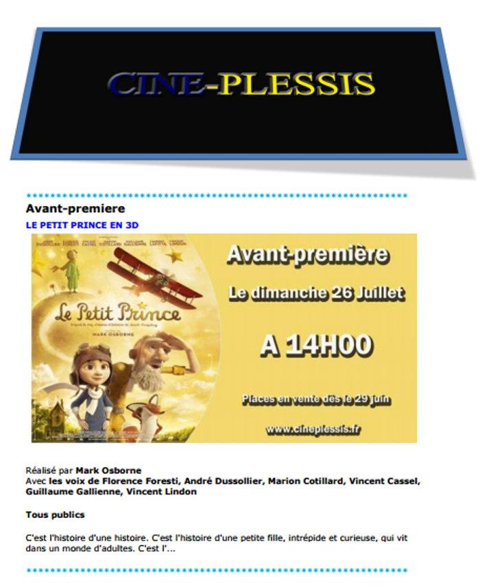cinema plessis 2207152