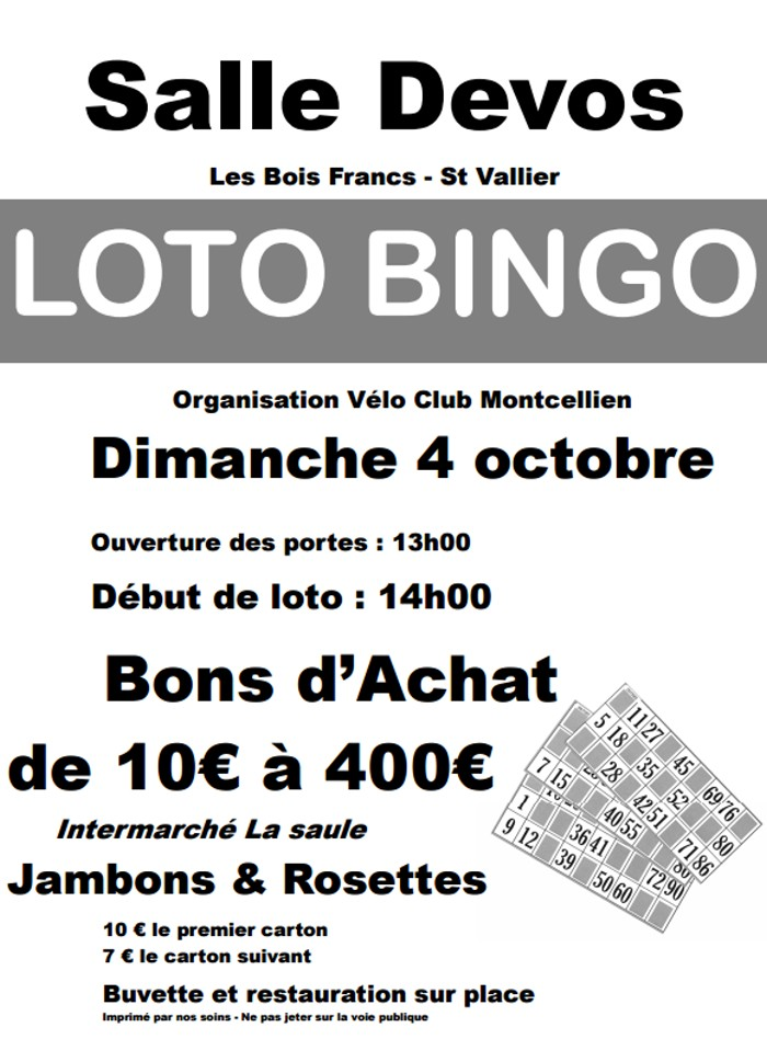 loto bingo 0310152