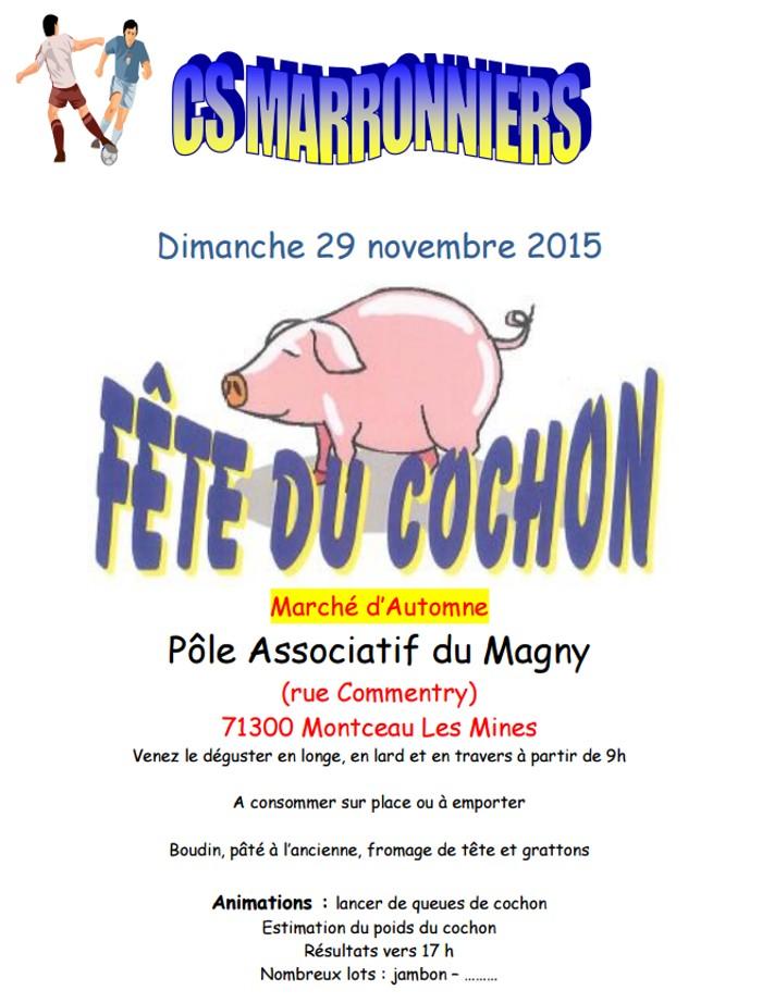 cochon marronniers 1311152