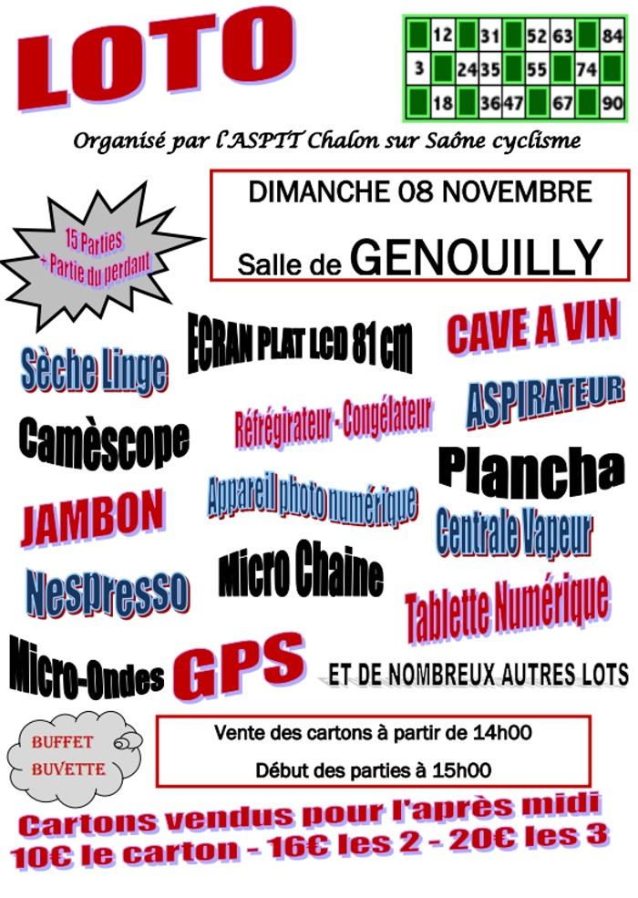 loto genouilly 0511152