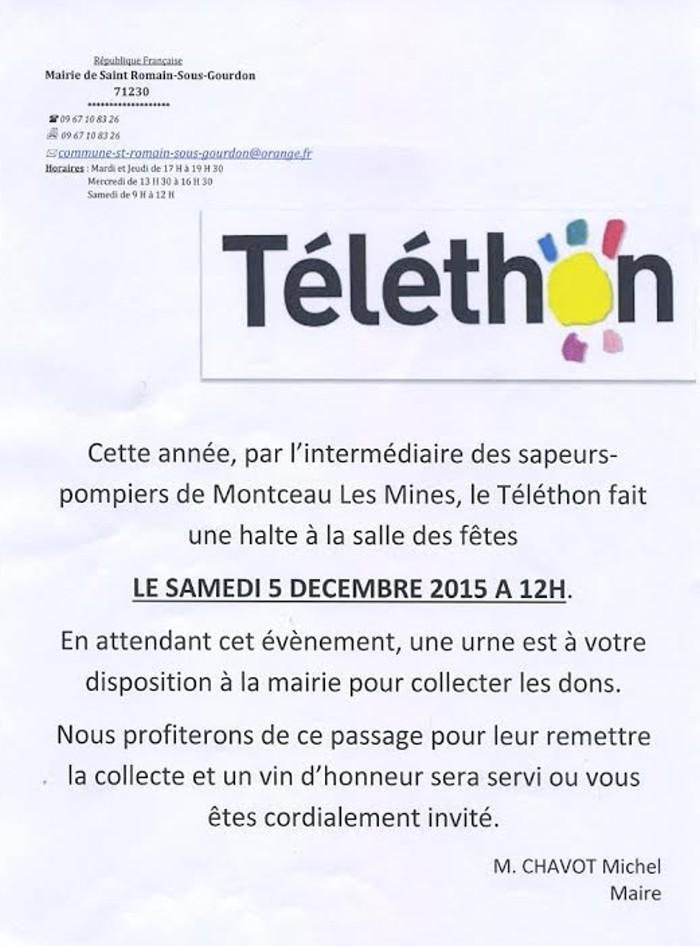 telethon st romain 0312152