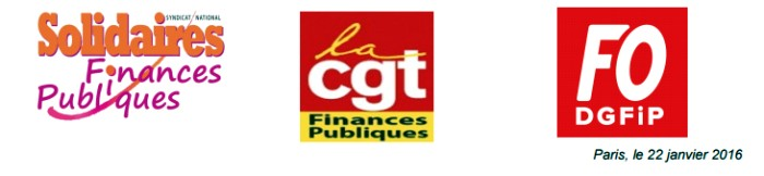 SOLIDAIRES CGT FO FP 23 01 16
