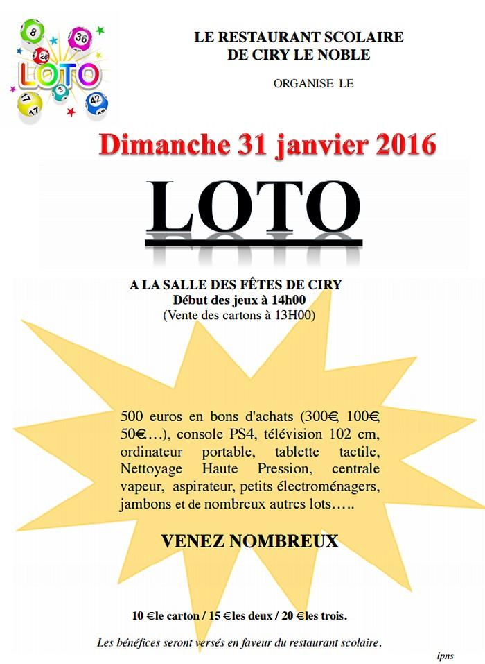 loto 16 01 16