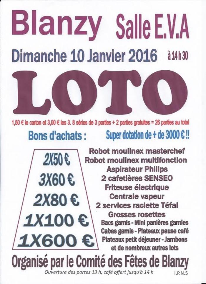 loto blanzy 0401162