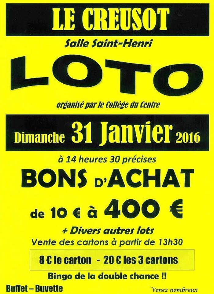 loto creusot 3101162