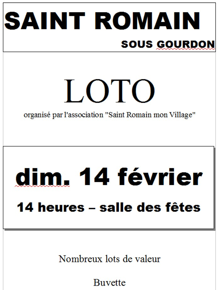 loto st romain 1202162
