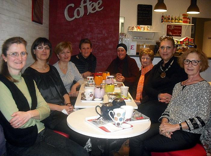 Le collectif «Rose-Bonbon»fait son «Tea-time»…