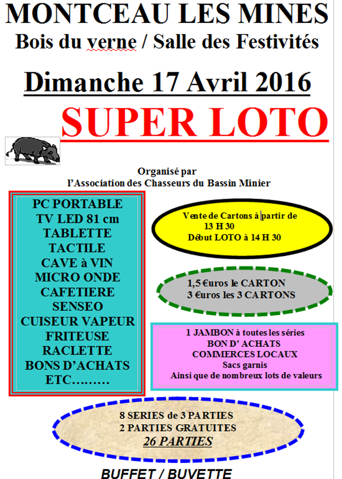 loto chasse 2903162