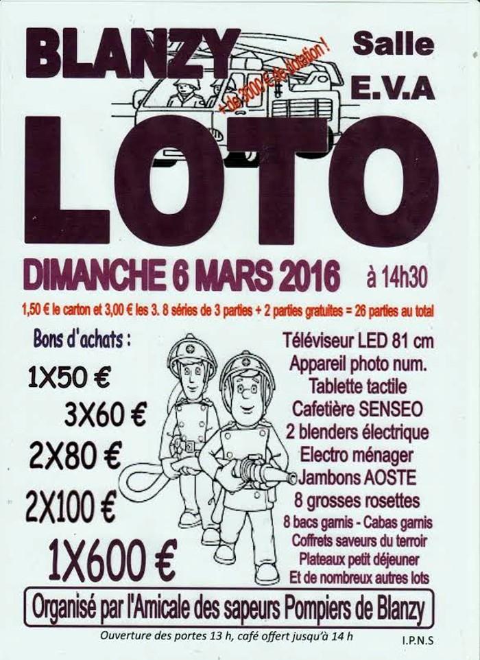loto pompiers 0403162