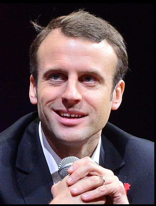 Emmanuel Macron 29 04 16