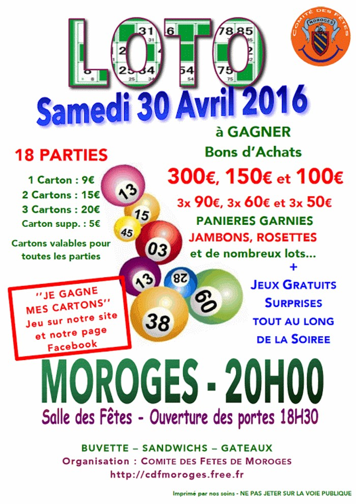 loto moroges 3004162