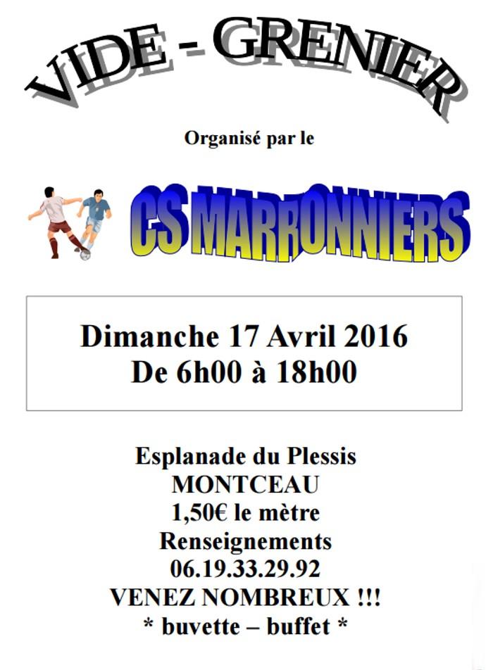 marronniers 0704162
