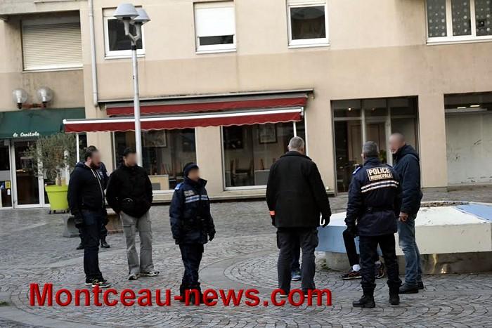 Réactualisé à 21 45 – Opération  anti-stups ce mercredi après-midi à Montceau…