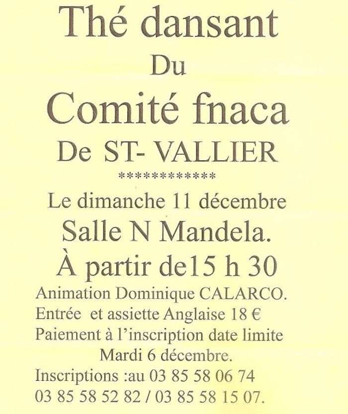 Comité FNACA de Saint-Vallier (Sortir)