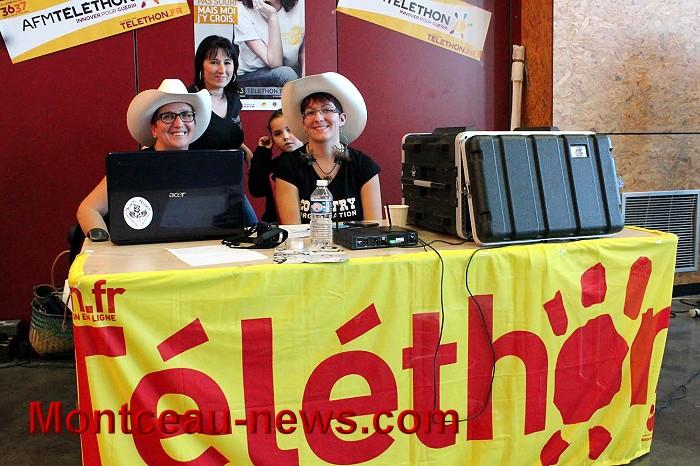 Toujours pour le téléthon à Saint-Vallier