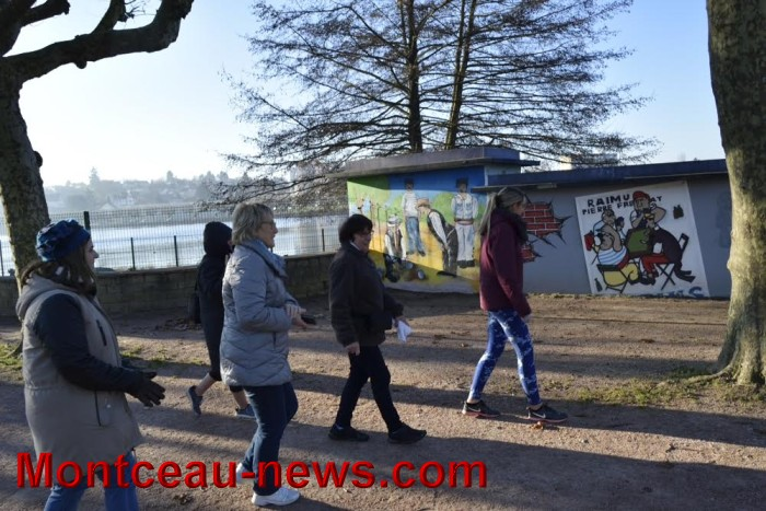 Marche autour du lac du Plessis (Montceau)