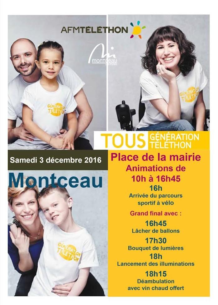 Téléthon 2016 (Montceau-les-Mines)