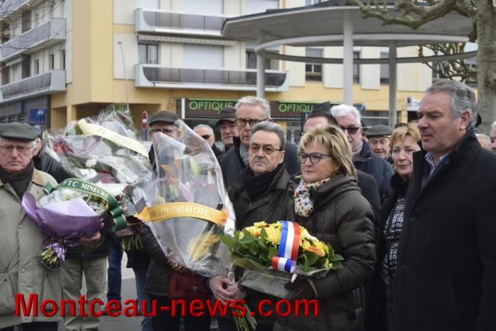 La ville et les mineurs fêtent la Sainte Barbe (Montceau)