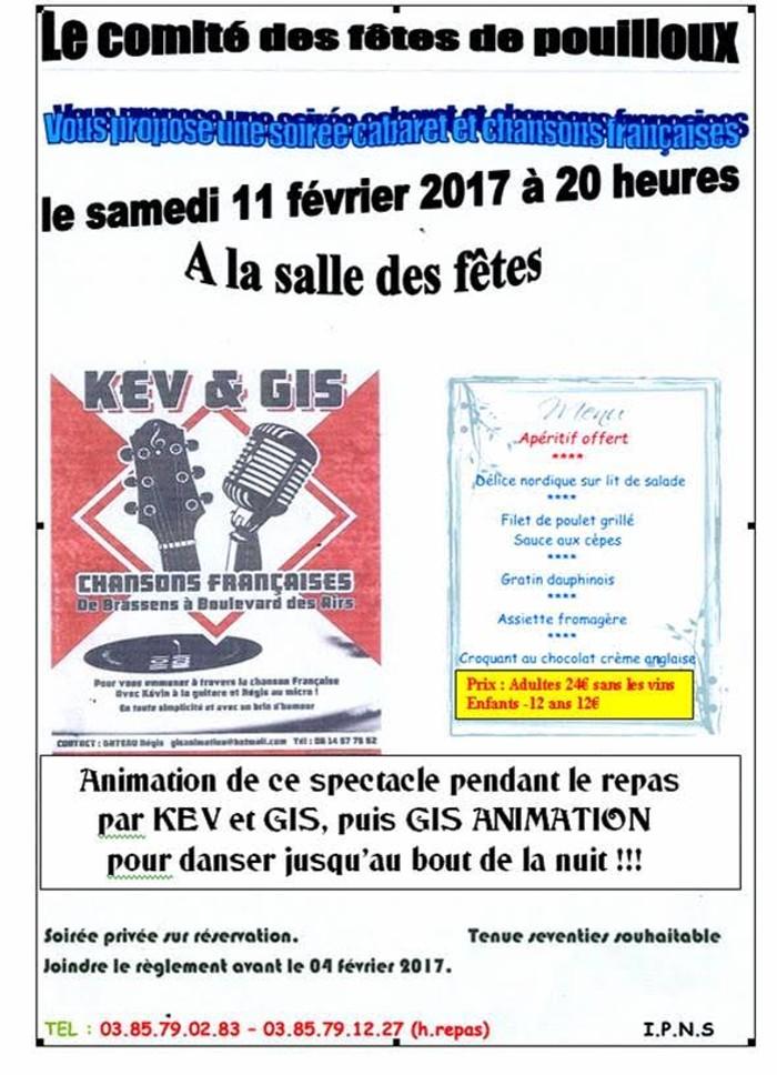 Comité des fêtes de Pouilloux