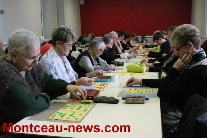 Loto du comité des fêtes à Saint-Vallier