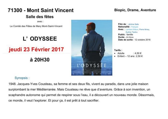 Comité des fêtes – Ciné Villages (Mont-Saint-Vincent)