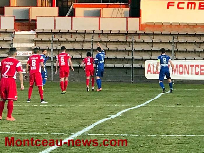 Score final  – CFA – FCMB : 0 – Grenoble : 3