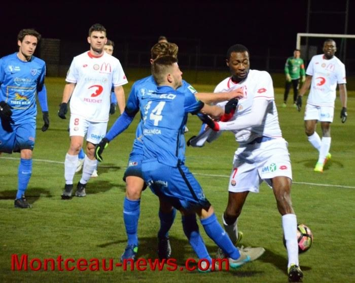 Football (CFA) : Mulhouse / Montceau (1-1)