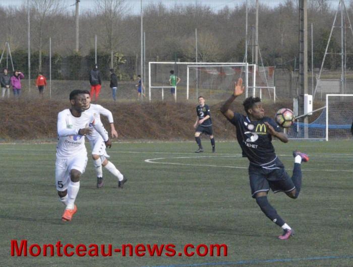 Football : FCMB B /Quetigny : 2 – 3