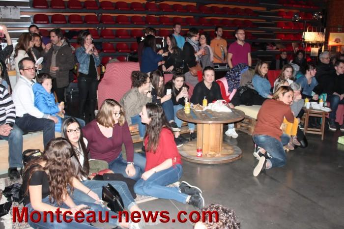 Scène ouverte avec le FJEP salle Devos à Saint-Vallier