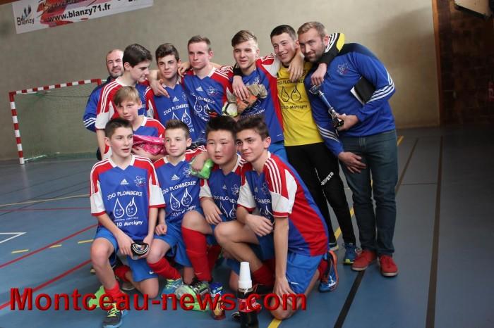 Football – District pays minier, finales U 13, U 15, U 18 à Blanzy
