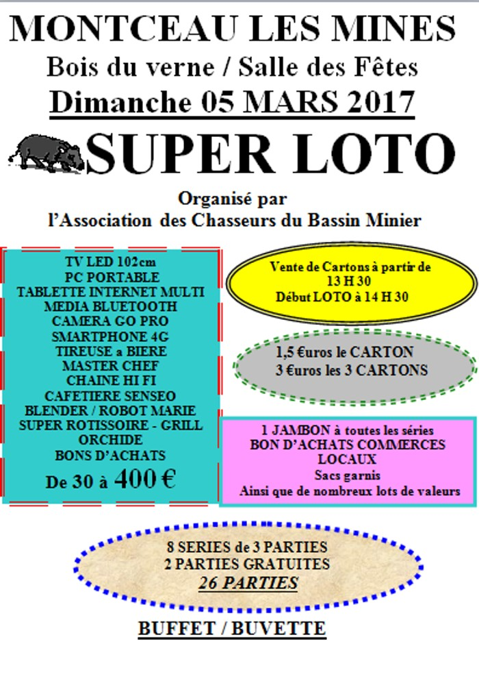 loto chasse 2002172
