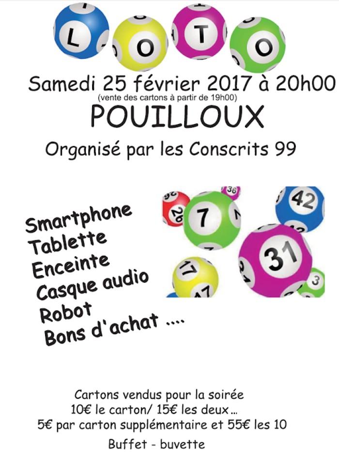 Conscrits 99 de Pouilloux
