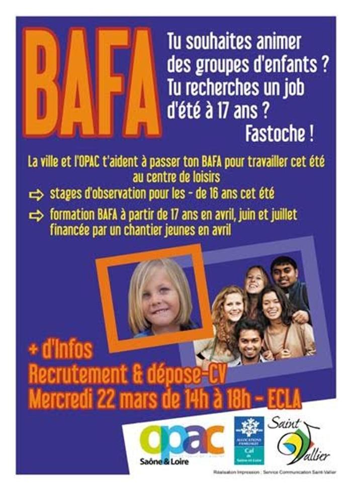 Formation BAFA (Saint-Vallier)