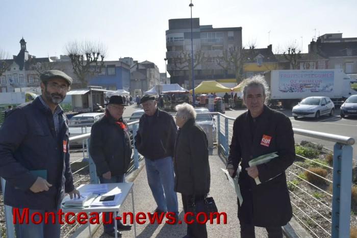 Retraites: Appel au rassemblement du 30 mars devant la Mairie (Montceau)