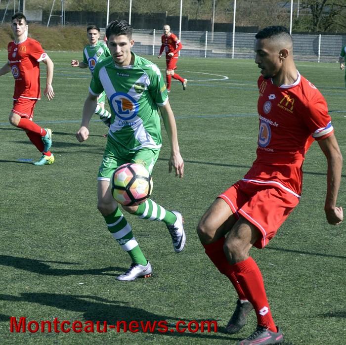 Football (DH) : FCMB/ – Saint-Apollinaire : 1  -0