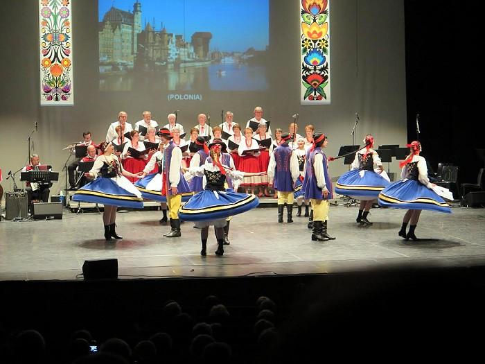 Gala de printemps du groupe «POLONIA» (Sortir)