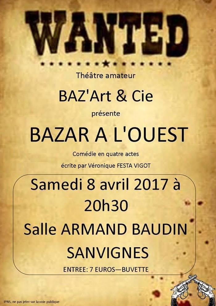Théâtre amateur, BAZ'Art&Cie (Sanvignes)