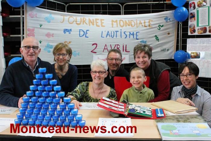 Samedi 1er avril 2017 sur le marché de Montceau-les-Mines et en centre-ville