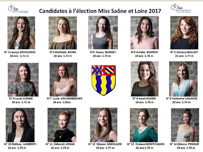 Election de Miss Saône et Loire 2017 à Montceau (Sortir)