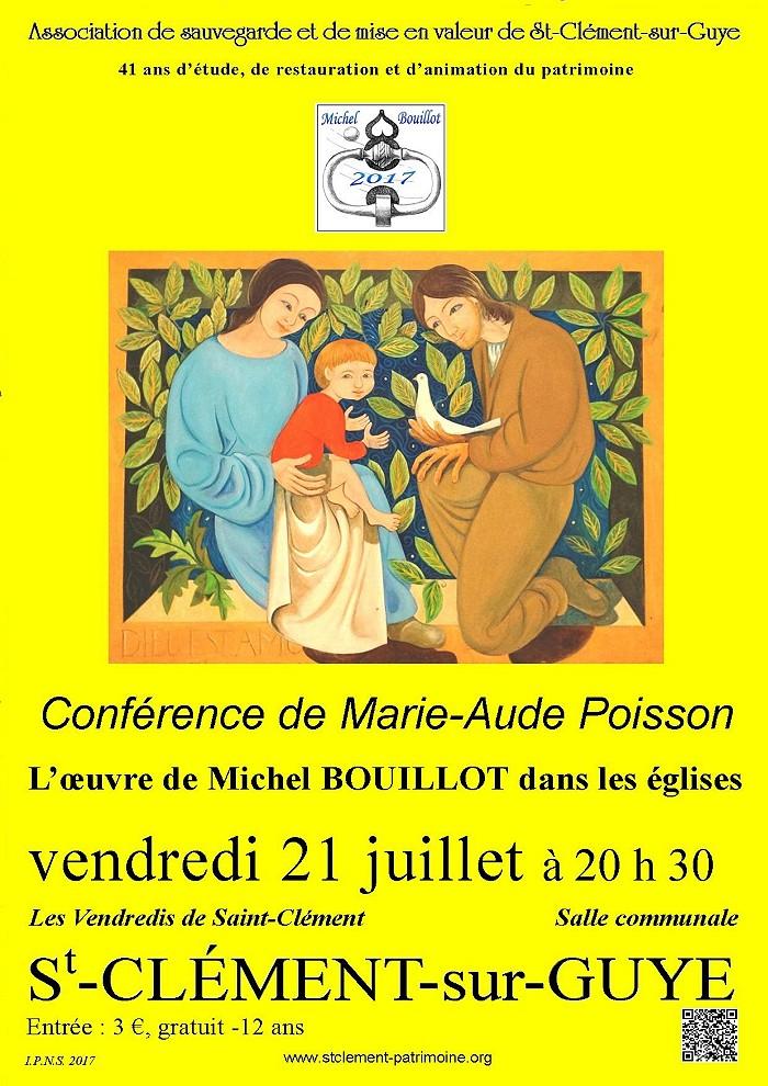 Conférence des Vendredis de Saint-Clément (Sortir)