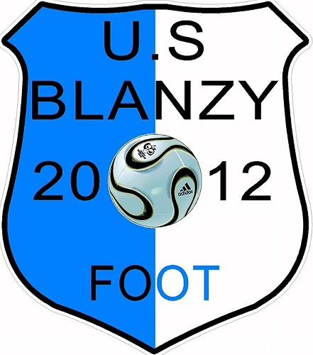 Logo US Blanzy foot 15 08 17