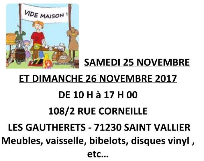 Vide Maison à Saint-Vallier