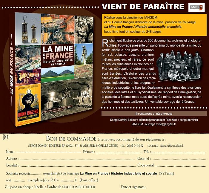 Edition La Mine En France Histoire Industrielle Et
