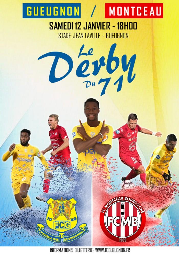 Affiche derby FCG FC%B 090119