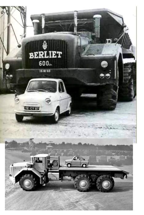 Bisbi bubblecars puce gent Berliet Vespa 2901194