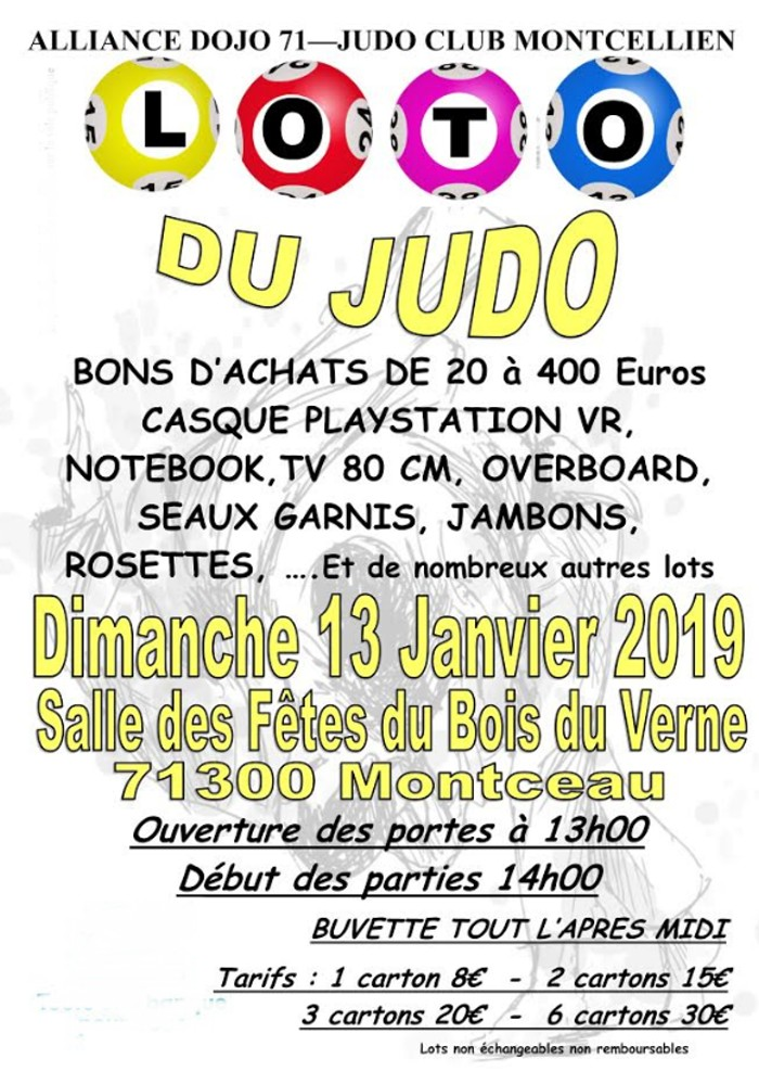 loto judo 1110192