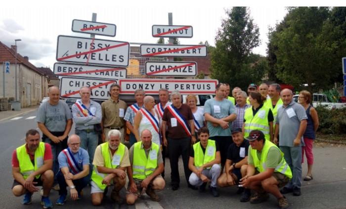 Association maires saone et Loire 090219