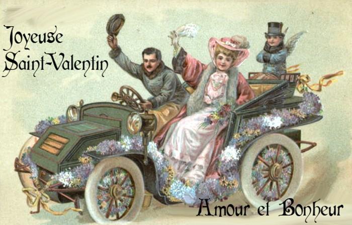 Carte postale ancienne saint Valentin 120219