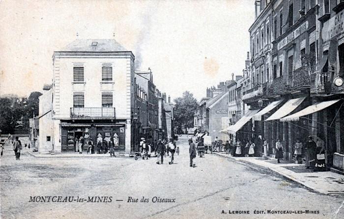 Cartes postales anciennes Montceau collection privee Montceau-news.com 24021910