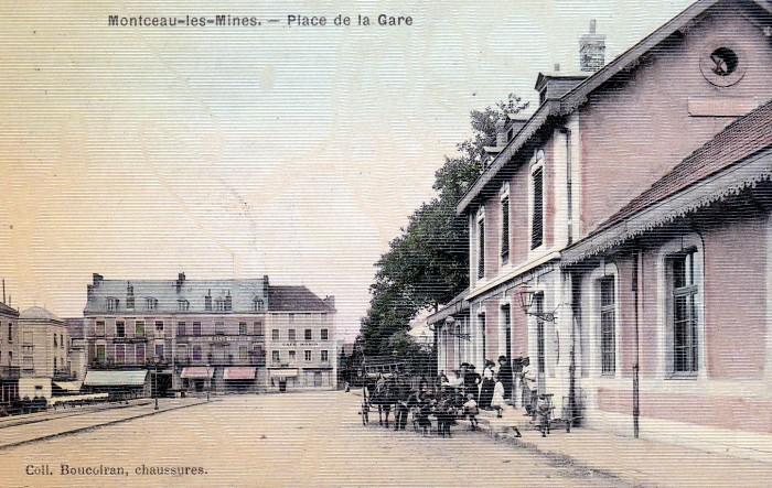 Cartes postales anciennes Montceau collection privee Montceau-news.com 2402193